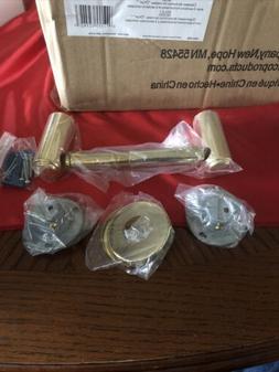 Franklin Brass Tempra Polished Brass Toilet Paper Holder!  N