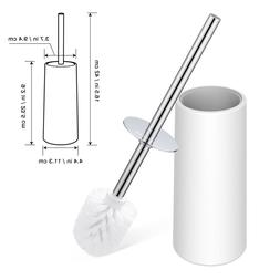 Toilet Brush and Holder Set Good Grip Compact Toilet Bowl Cl