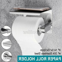 Toilet Tissue Holder Blue Roll Papers Stand Dispenser Home K