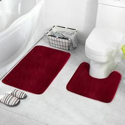 U Shaped Toilet Floor Rug Bathroom Mat Kitchen Floor Home De