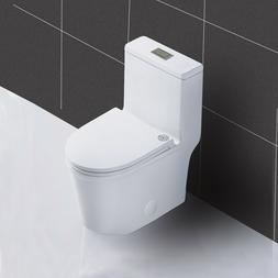 WinZo WZ5079 Compact Short One Piece Toilet Dual Flush For S